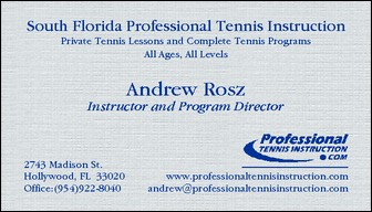 Andrew S. Rosz; Instructor and Program Director