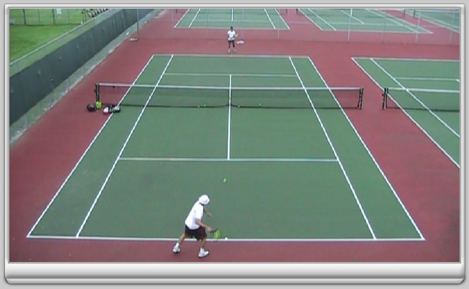 Sample Tennis Lesson on DVD - CLICK HERE for some great tenis tips from SFPTI Coach Andrew Rosz!
