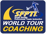Professional tennis training for ATP tour players by SFPTI's premier tennis coach Andrew Rosz
